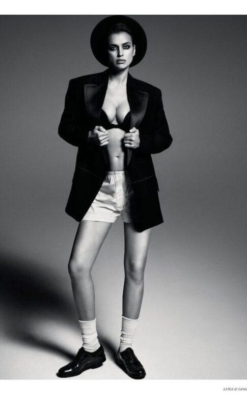 fashiongonerogue.com Irina-Shayk-Tries-On-Dapper-Style-for-Vogue-Rc4851eac949ae3da344bb7435878252e