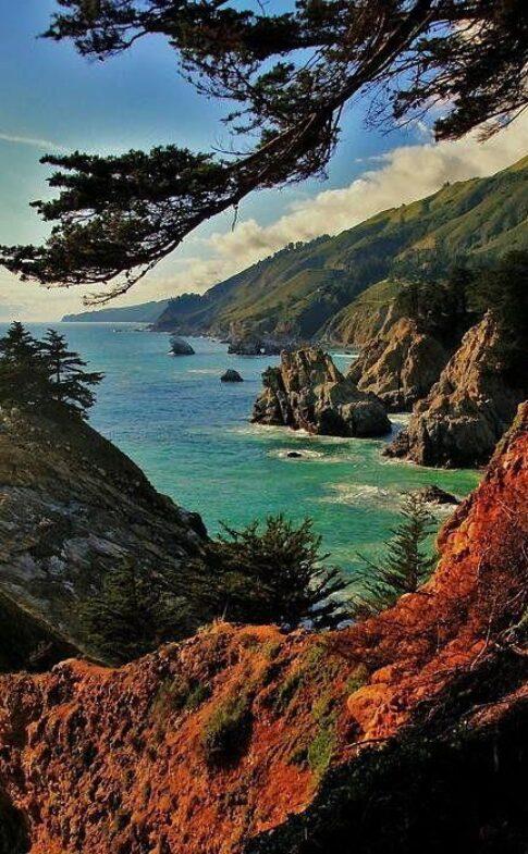 fineartamerica.com California-Coastline-Art-Print-by-Benjamin-Ye10f4eb626017d8d6029e32bea1762da1
